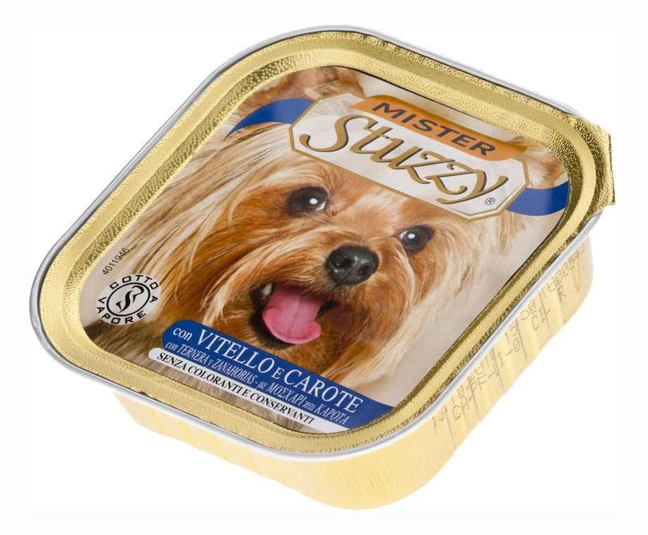 MISTER STUZZY DOG консервы для собак с Телятиной и Морковью,22 шт х 150г  #1