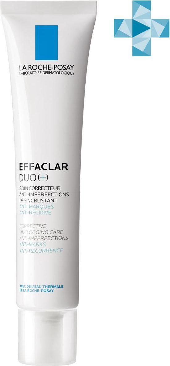 La Roche-Posay Effaclar Duo(+) Крем-гель корректирующий, для проблемной кожи, 40 мл  #1
