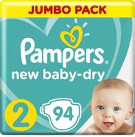 Pampers Подгузники New Baby-Dry 4-8 кг (размер 2) 94 шт. Наши лучшие предложения