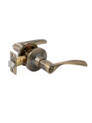 Ручка-защёлка дверная FERRE A8023 ET AB (бронза, ключ-поворотник). Хиты продаж