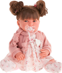 Кукла Antonio Juan Алексия в розовом, 40 см. КУКЛЫ ИЗ ИСПАНИИ