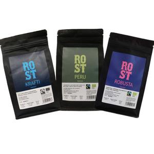 Кофе в зернах Rost & Co Espresso Box (6x250г). Вместе дешевле!