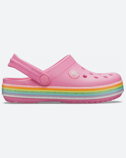 Crocs Crocband Rainbow Glitter Clog