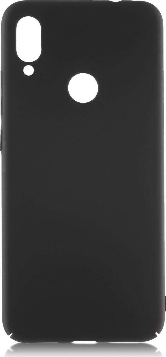 Чехол-накладка Brosco четырехсторонний Soft-touch для Xiaomi Redmi Note 7, черный цена и фото