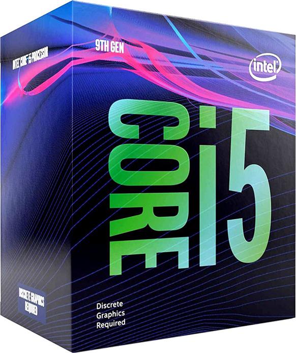 Процессор Intel Core i5 - 9500F BOX без кулера, BX80684I59500F процессор intel core i5 8400 box