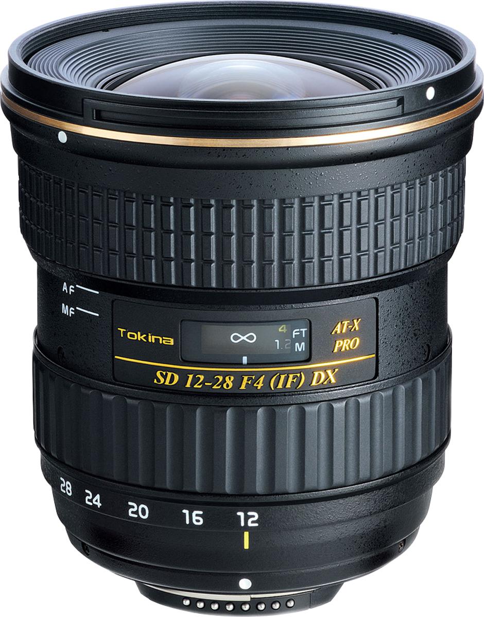 Широкоугольный объектив Tokina AT-X 128 F4 PRO DX N/AF-D (12-28mm) для Nikon