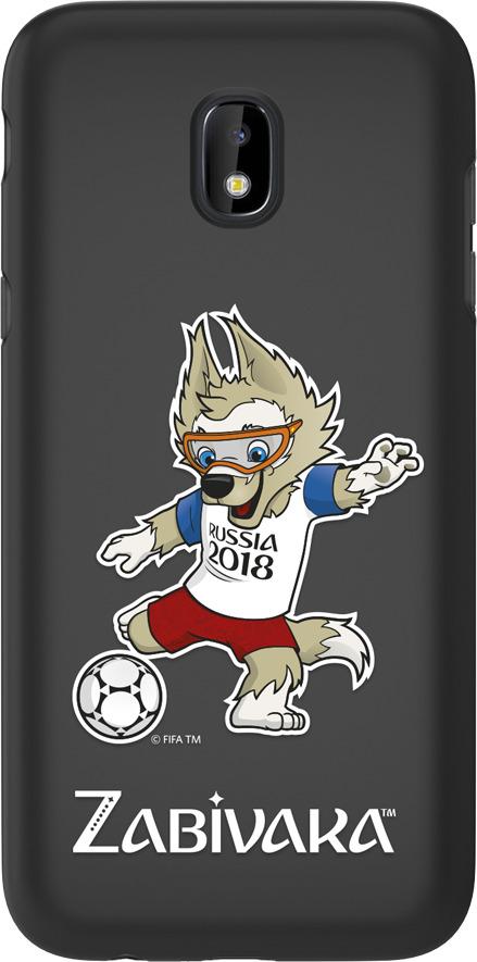 Чехол TPU для Samsung Galaxy J3(2017), FIFA Zabivaka 2, Deppa кепка плюшевая fifa 2018 zabivaka взрослая