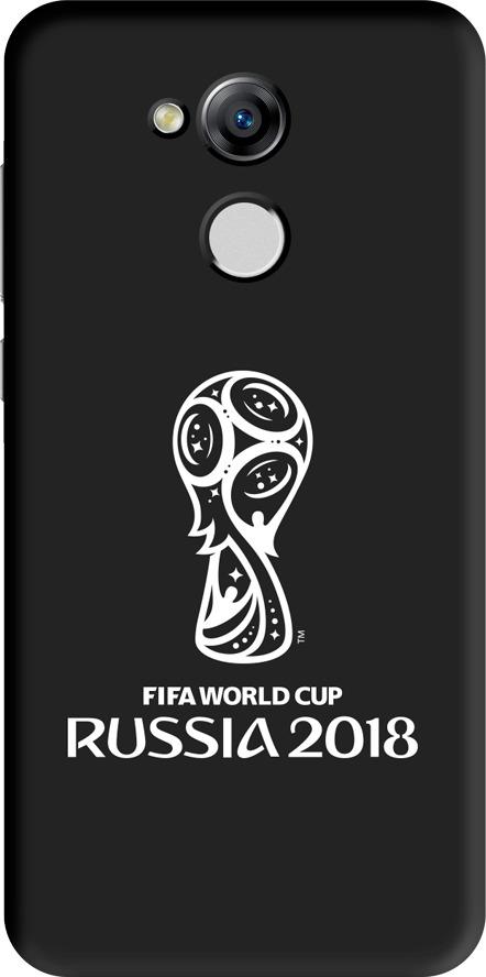 Чехол TPU для Huawei Honor 6A, FIFA Official Emblem white, Deppa чехол fifa 2018 official emblem white для samsung a5