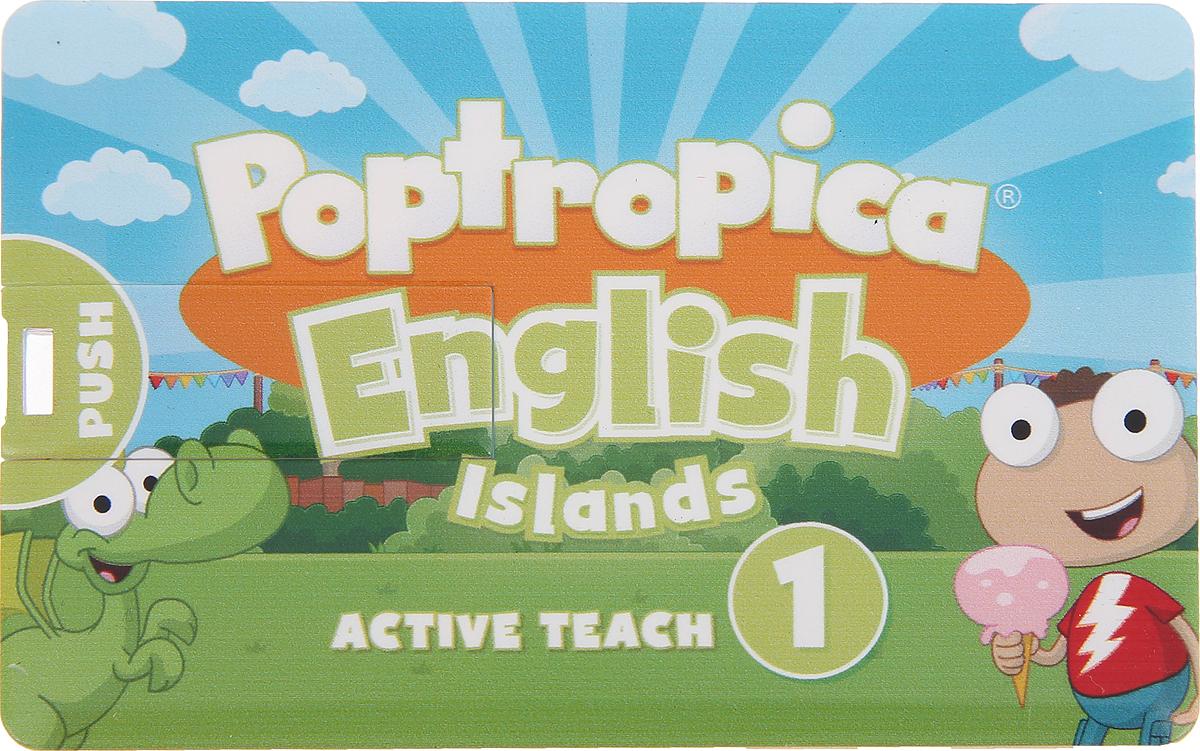 лучшая цена Poptropica English Islands 1 Active Teach USB