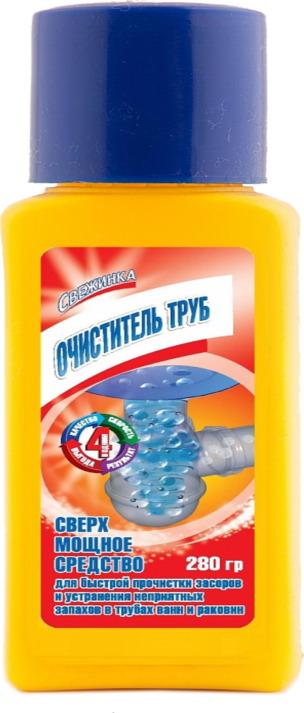 Свежинка гранулы Очиститель труб 280 гр