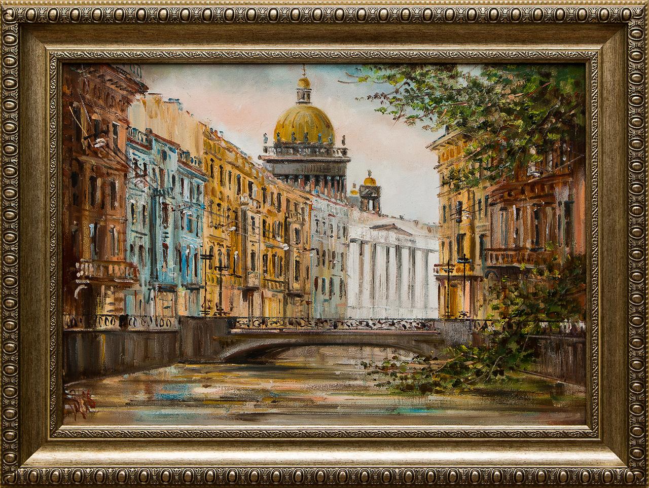 Картина маслом Мойка Шеренкова картина маслом европа шеренкова