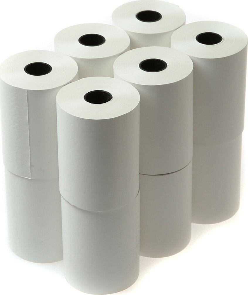 Чековая лента термочувствительная 57 мм, 57*12, 32 м Упаковка ( 12 шт )