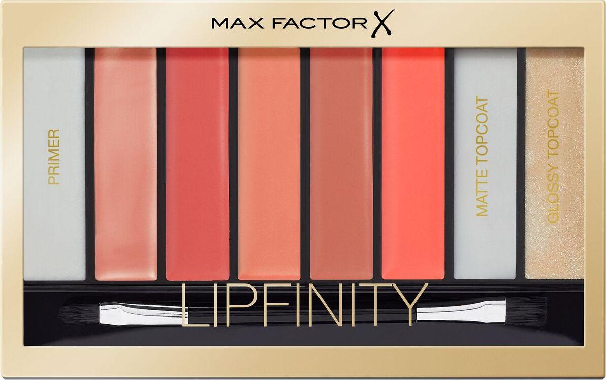 Палетка для губ Max Factor Lipfinity, тон № 03 nudes