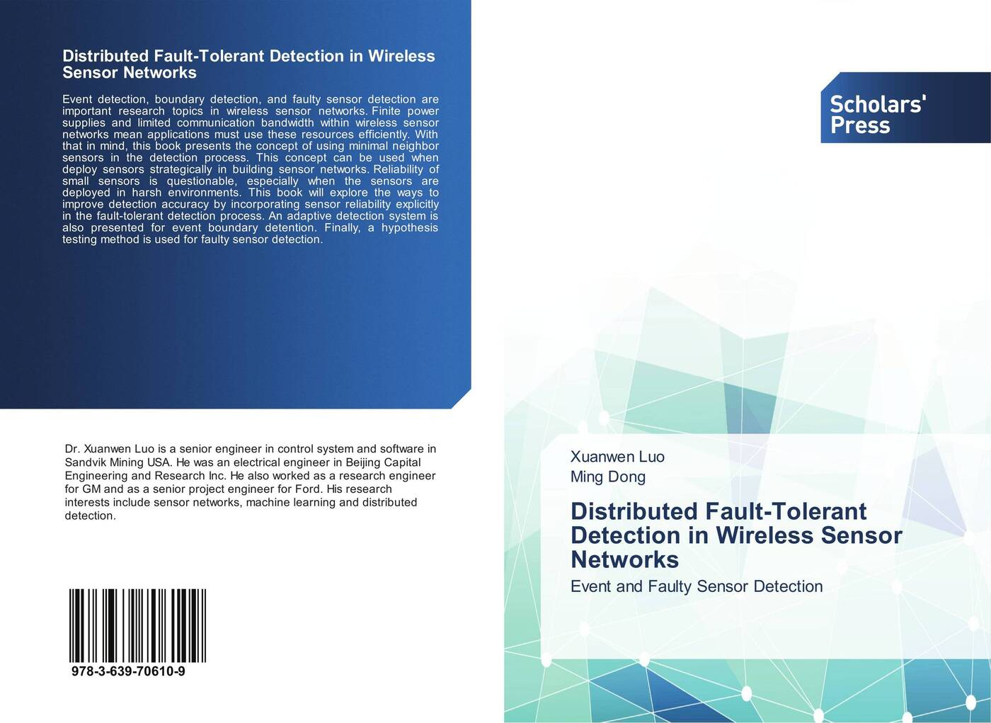 купить Xuanwen Luo and Ming Dong Distributed Fault-Tolerant Detection in Wireless Sensor Networks дешево