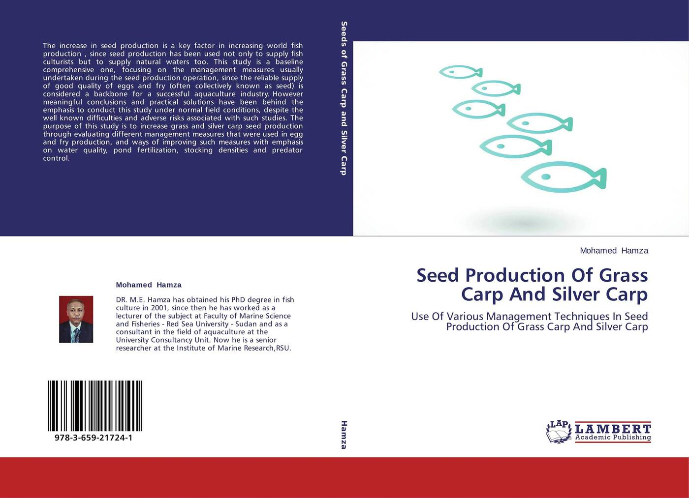 Фото - Mohamed Hamza Seed Production Of Grass Carp And Silver Carp charles mischke c aquaculture pond fertilization impacts of nutrient input on production