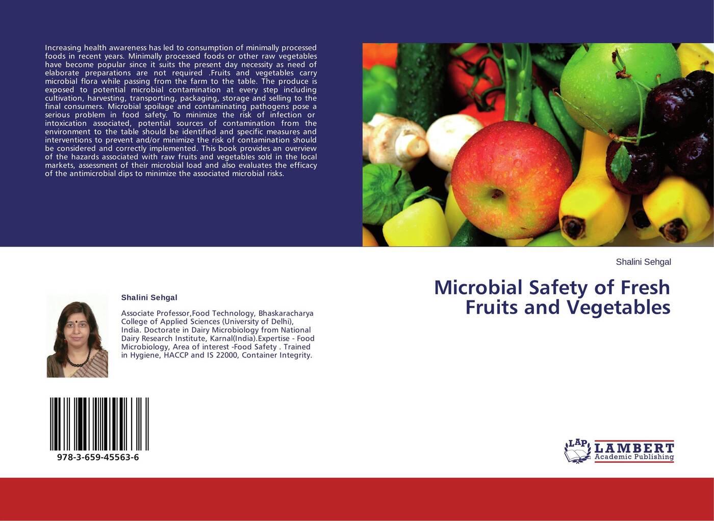 цены на Shalini Sehgal Microbial Safety of Fresh Fruits and Vegetables  в интернет-магазинах
