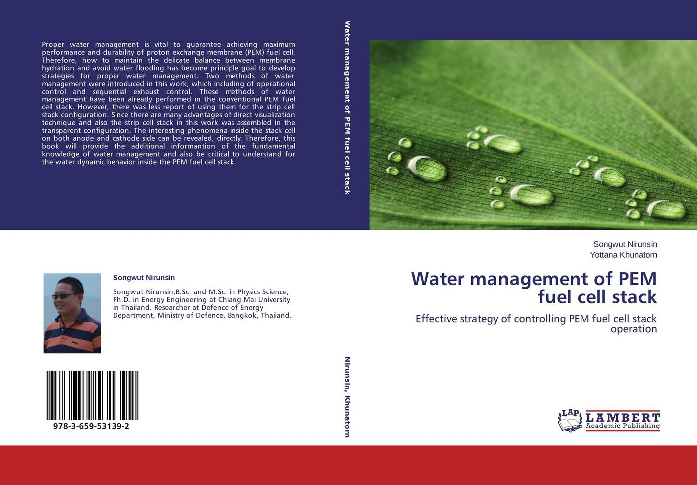 Songwut Nirunsin and Yottana Khunatorn Water management of PEM fuel cell stack pem cell electrolyzer fuel cell to generate power pem cell for experimental education