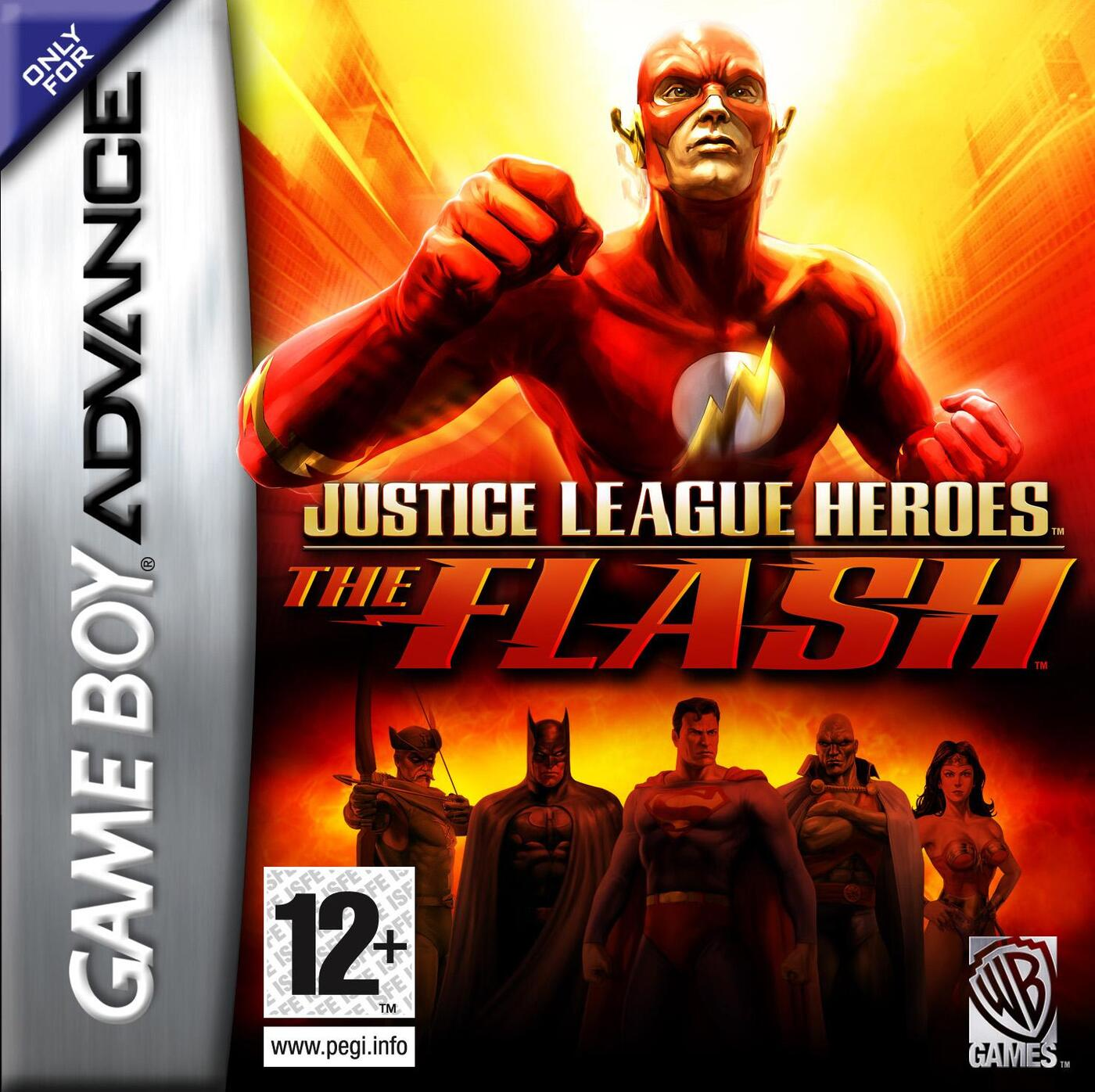 GBA Justice League Heroes: The Flash (Русская версия)