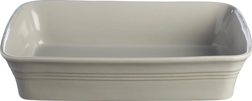 Блюдо для запекания Mason Cash Classic Kitchen прямоугольное 31 см серое