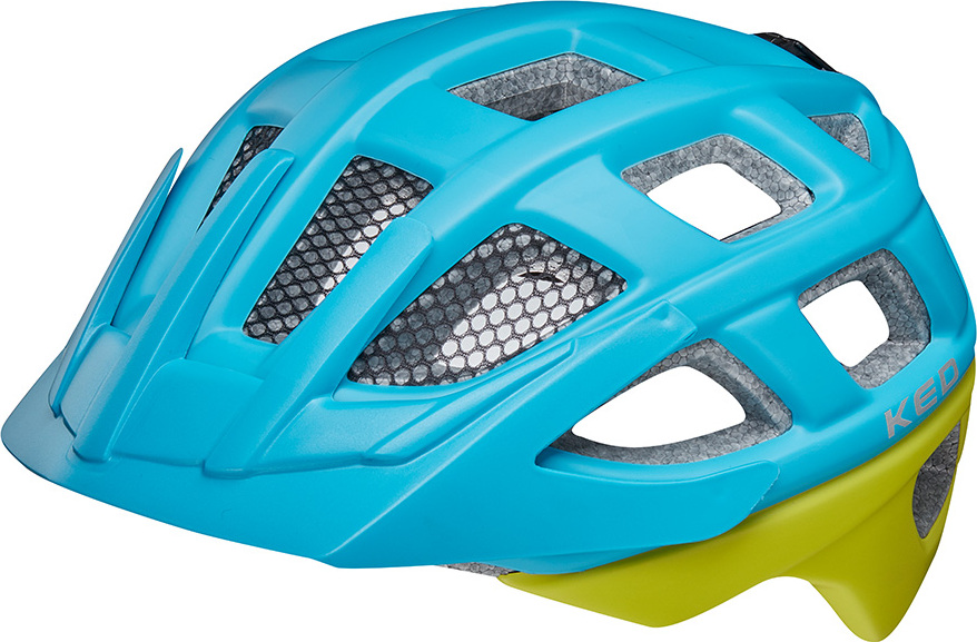 Шлем KED Kailu Lightblue Green Matt, размер S