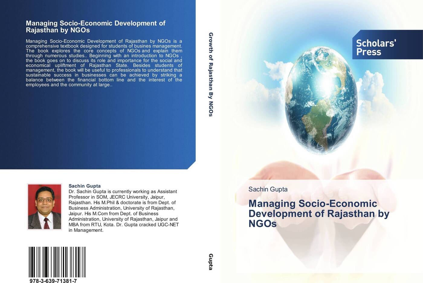 Managing Socio-Economic Development of Rajasthan by NGOs