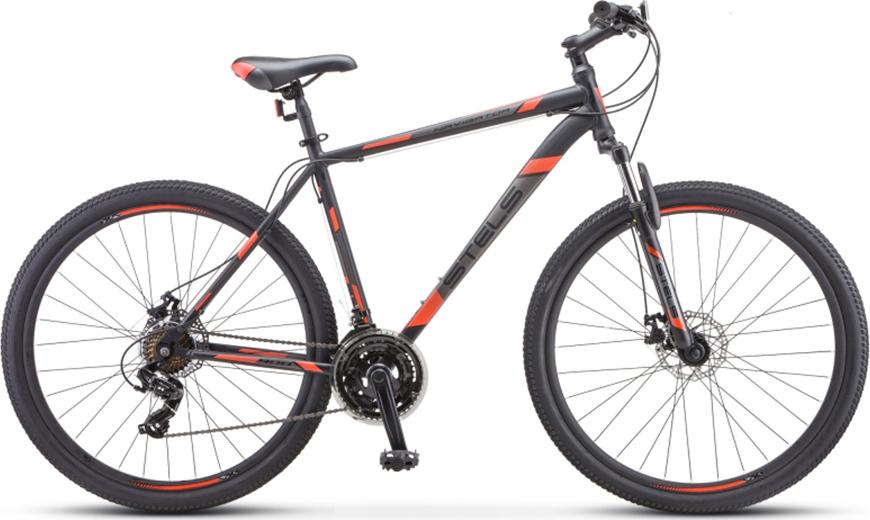 Велосипед Stels Navigator 900 MD F010 Черный/синий 29 (LU092628), 17.5'
