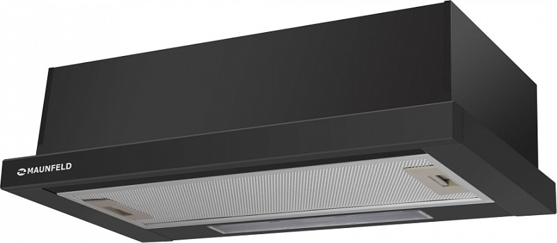 Встраиваемая вытяжка MAUNFELD VS LIGHT 60 черный Дизайн великолепно впишется в любой кухонный интерьер и благодаря...