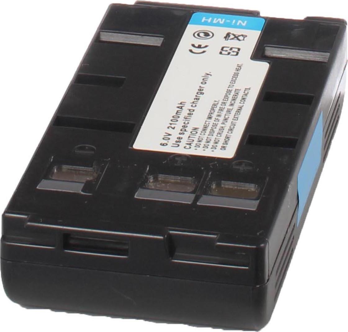 Аккумуляторная батарея iBatt iB-T3-F177 2100mAh для камер Panasonic NV-G120, NV-S250, NV-S800, NV-G101, NV-G220, NV-S600,  для Samsung VP-E405, VP-U12, VP-A30, VP-H65, VP-E807, VP-H66, VP-J52, VP-U10, VP-A50, VP-A55, VP-K75, VP-E808, VP-K85, VP-H68,