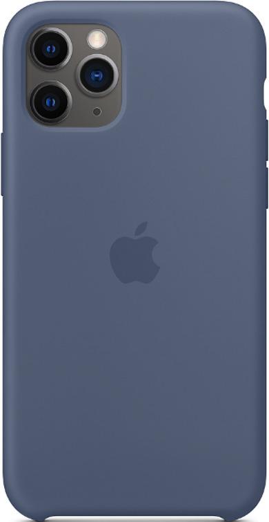Силиконовый чехол для iPhone 11 (синий)-153488