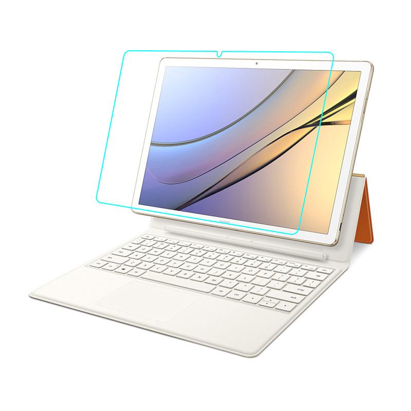 Защитное противоударное стекло MyPads для планшета Huawei MateBook E (BL-W09 / W19) с олеофобным покрытием