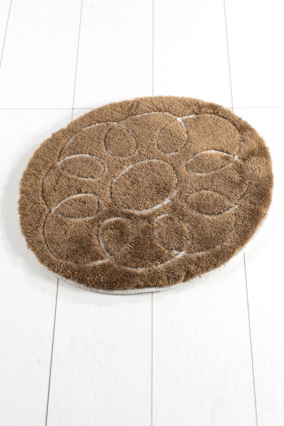 Противоскользящий коврик для ванной Buffer, Safir Kahve 50X60 50x60 см
