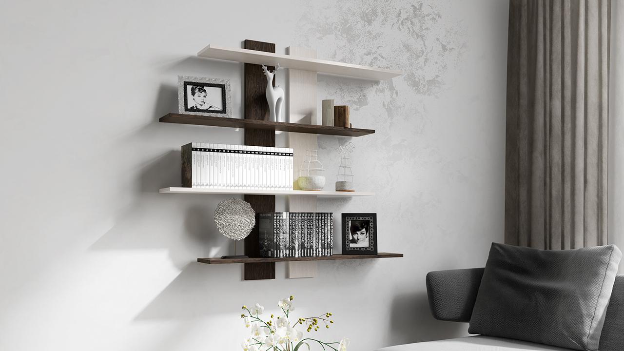 фото настенных мебельных полок это