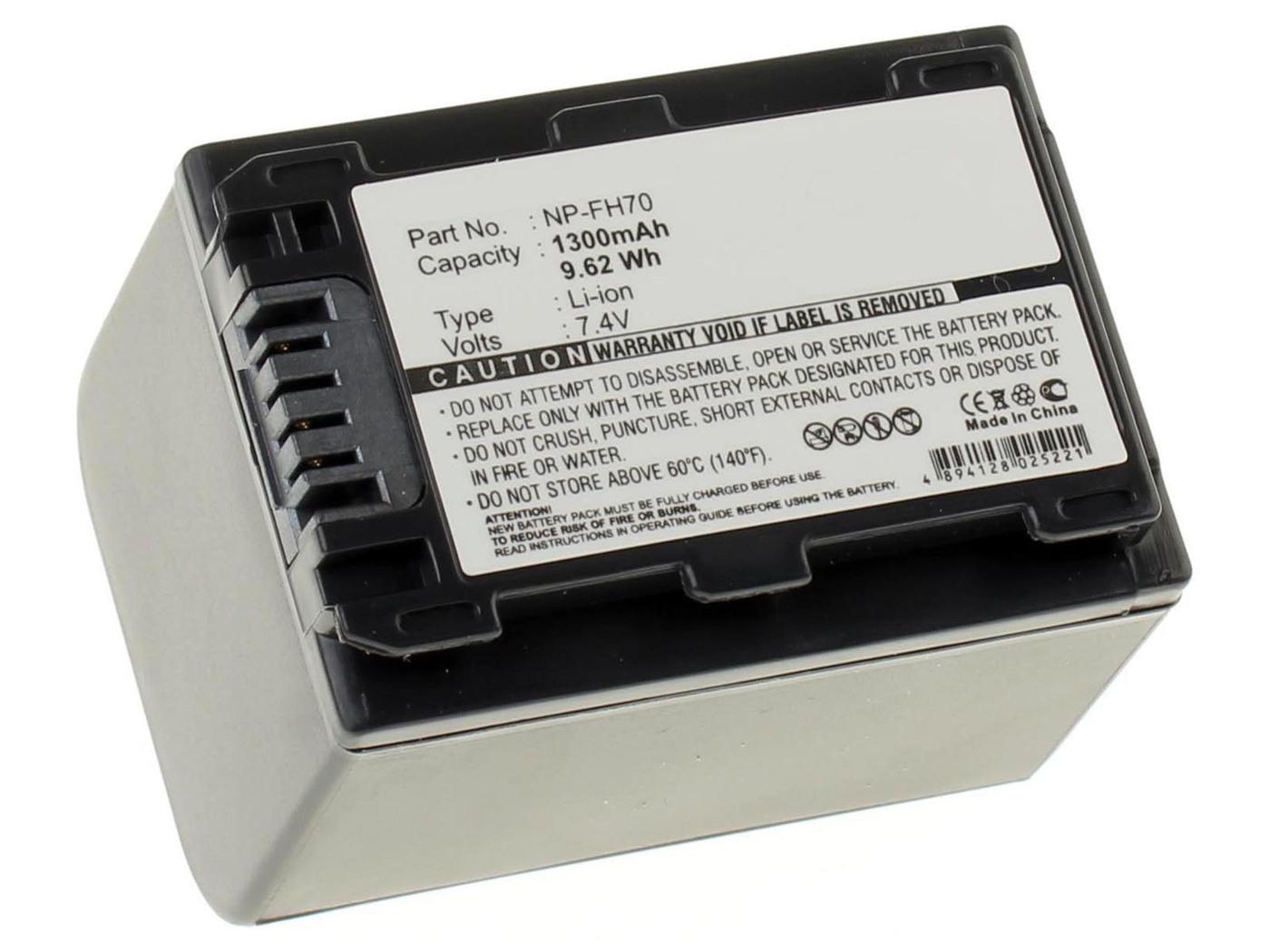 Аккумуляторная батарея iBatt iB-T7-F284 1300mAh для камер Sony HDR-CX106E, HDR-SR7, HDR-UX20E, DCR-SR32, DCR-SR35E, HDR-UX10, HDR-UX10E, DCR-SR35, HDR-UX20, DCR-DVD110, DCR-DVD115E, DCR-HC37E, DCR-SR52, DCR-SR55, DCR-SR55E, HDR-SR8, DCR-DVD110E,
