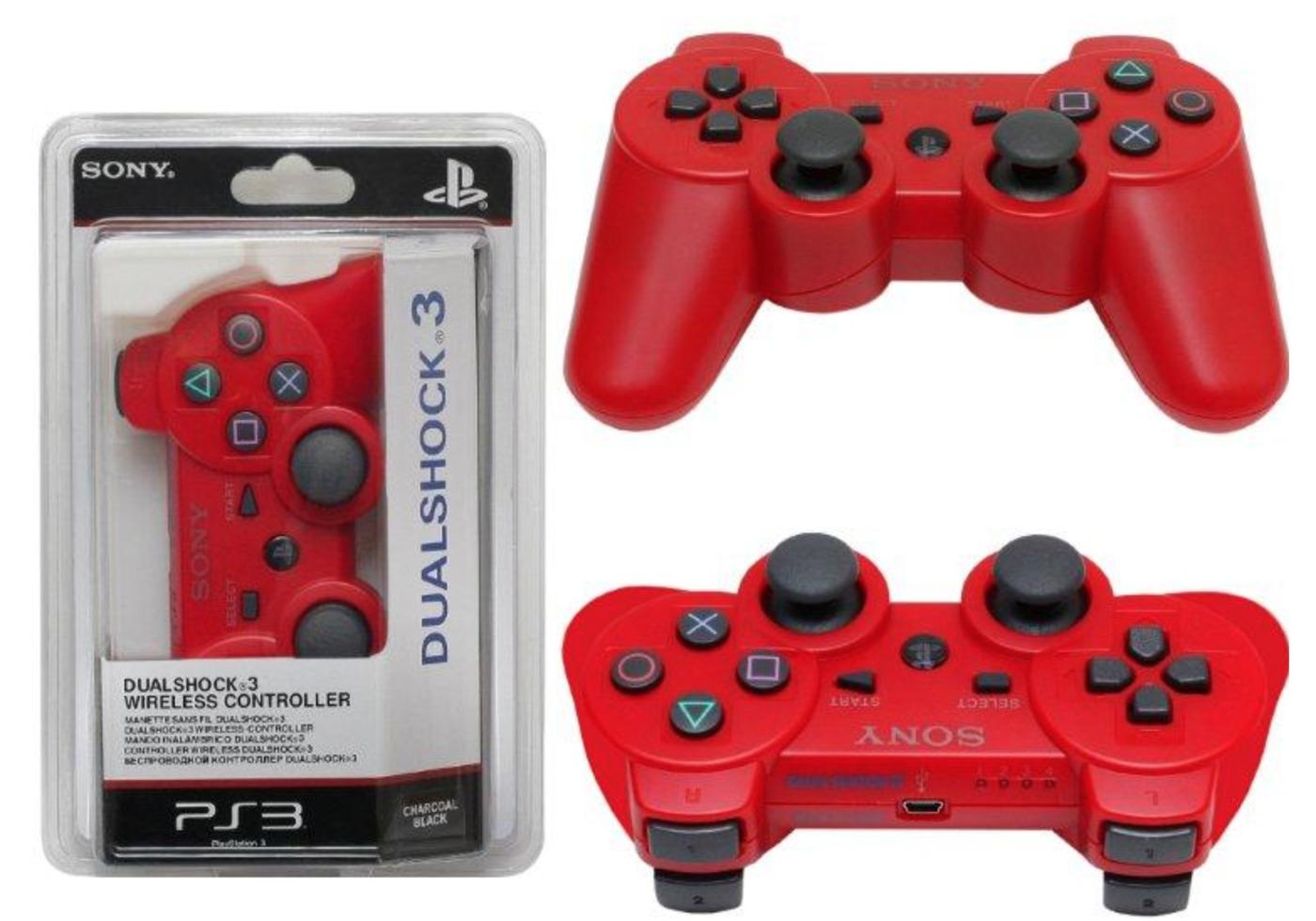 Джойстик Sony DualShock 3 для PS3 красный