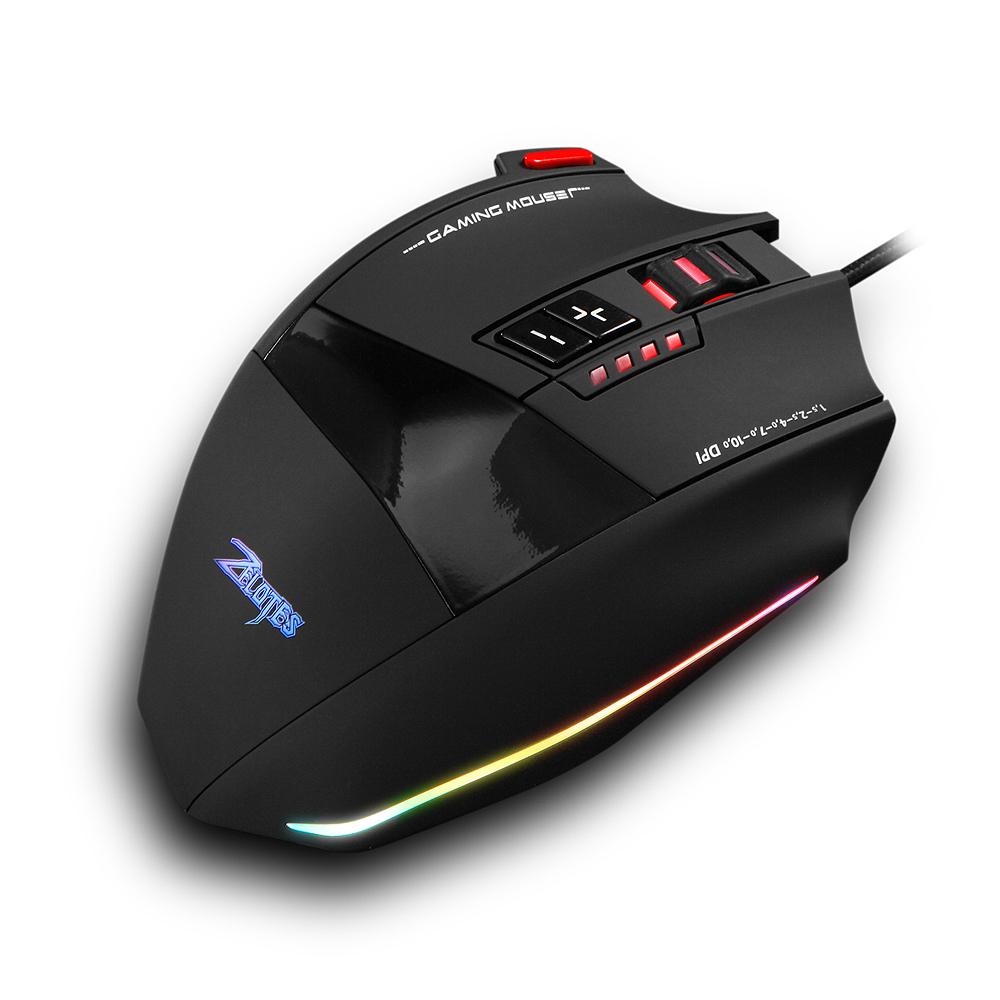 Zelotes C-13 10000 точек на дюйм игровая мышь