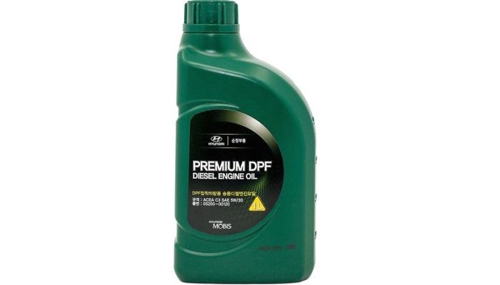 МАСЛО МОТОРНОЕ СИНТЕТИЧЕСКОЕ DIESEL ENGINE OIL PREMIUM DPF 5W/30, 1L