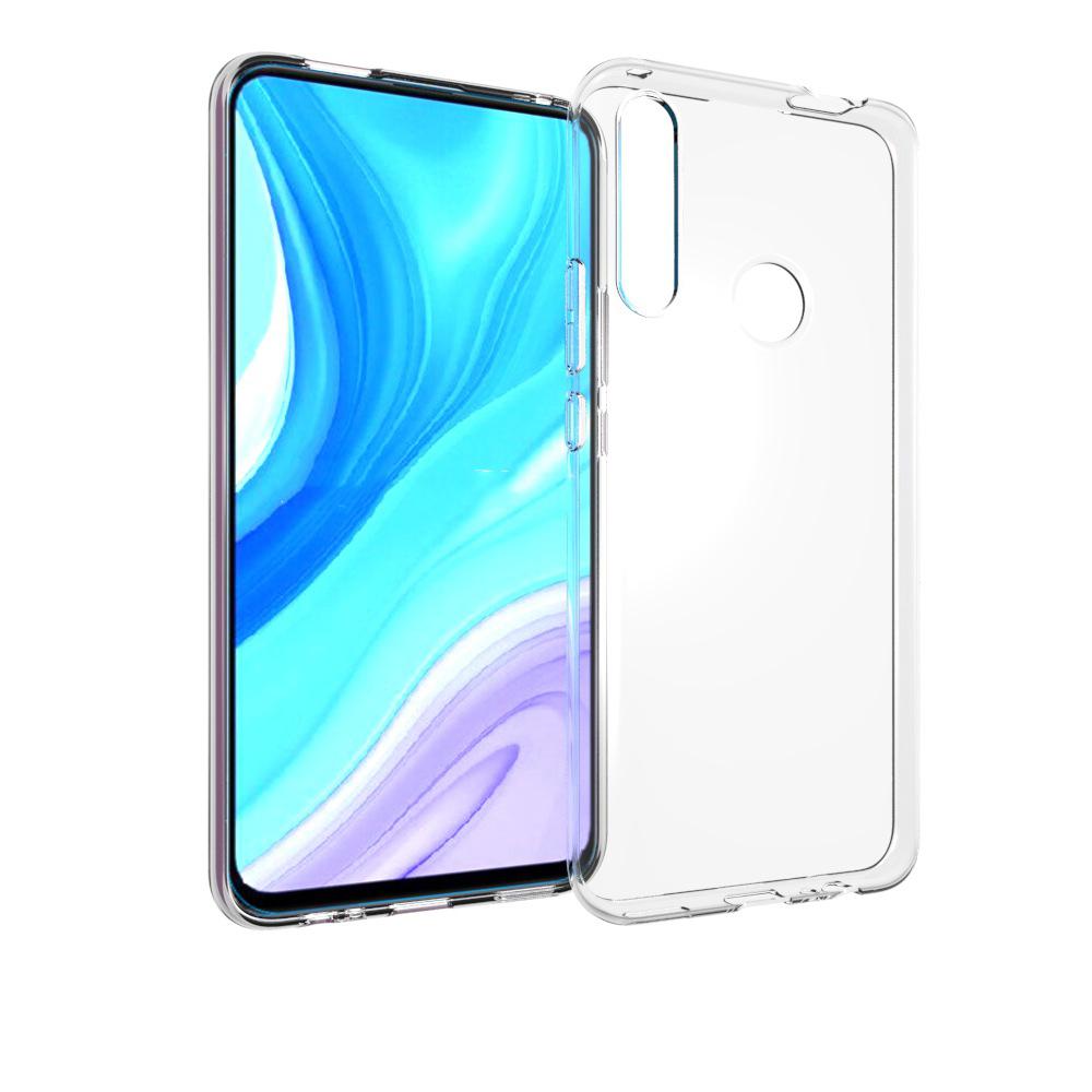 Силиконовый глянцевый транспарентный чехол для Huawei Honor 9X