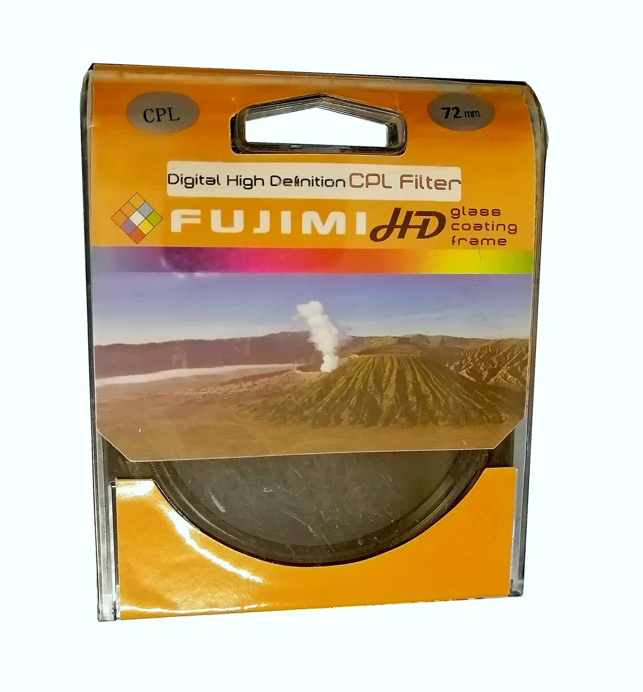Светофильтр Fujimi CPL dHD 72мм