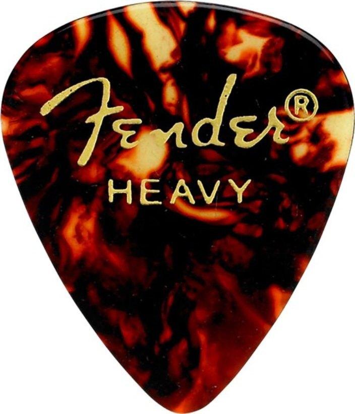 FENDER CLASSIC SHELL HEAVY 5pcs. комплект медиаторов 5шт.