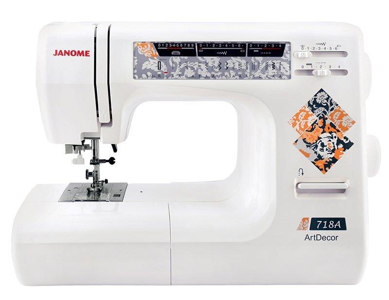 Janome ArtDecor 718A швейная машина