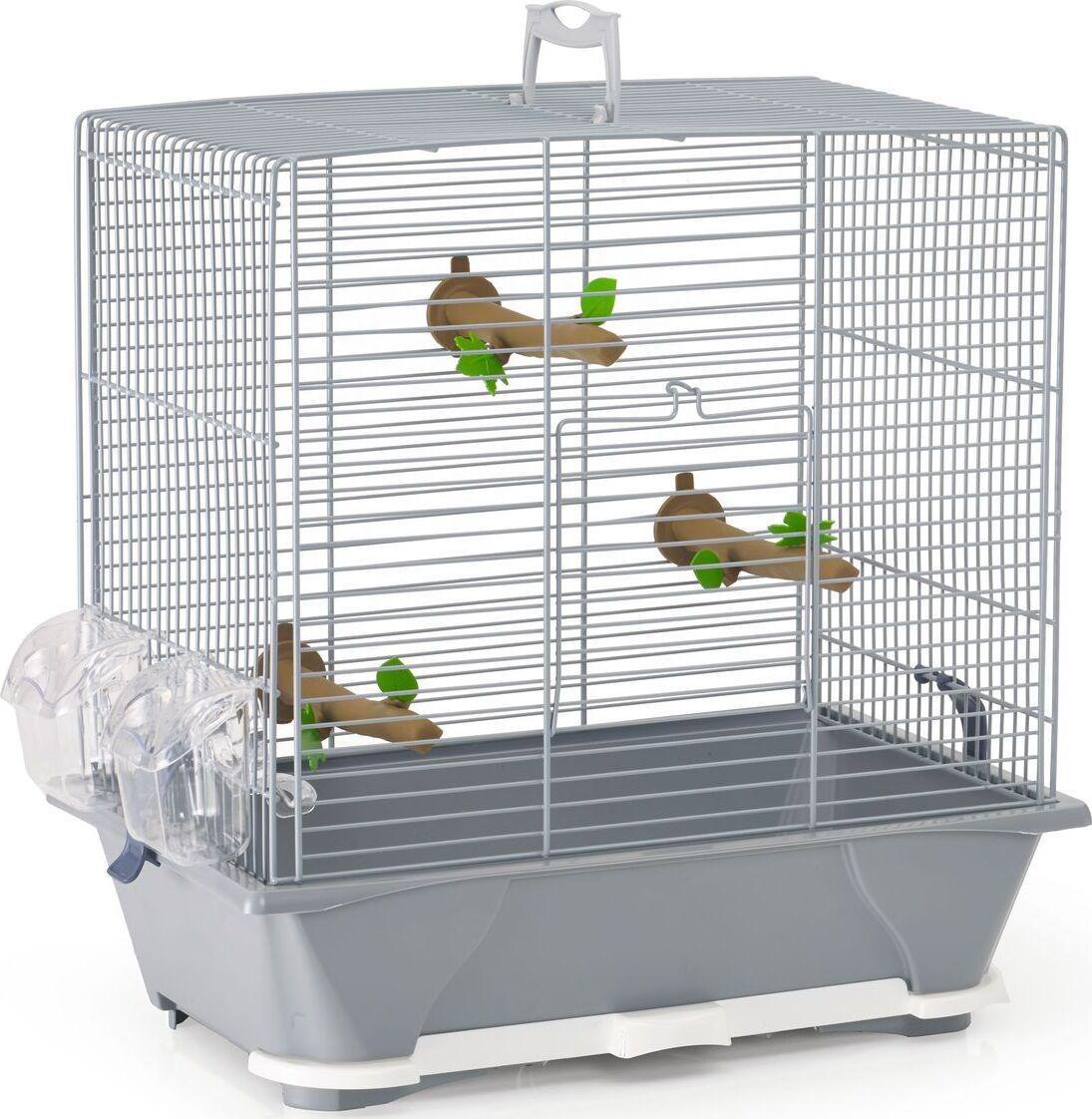 клетка для птиц savic primo 40, серый (6 шт.)