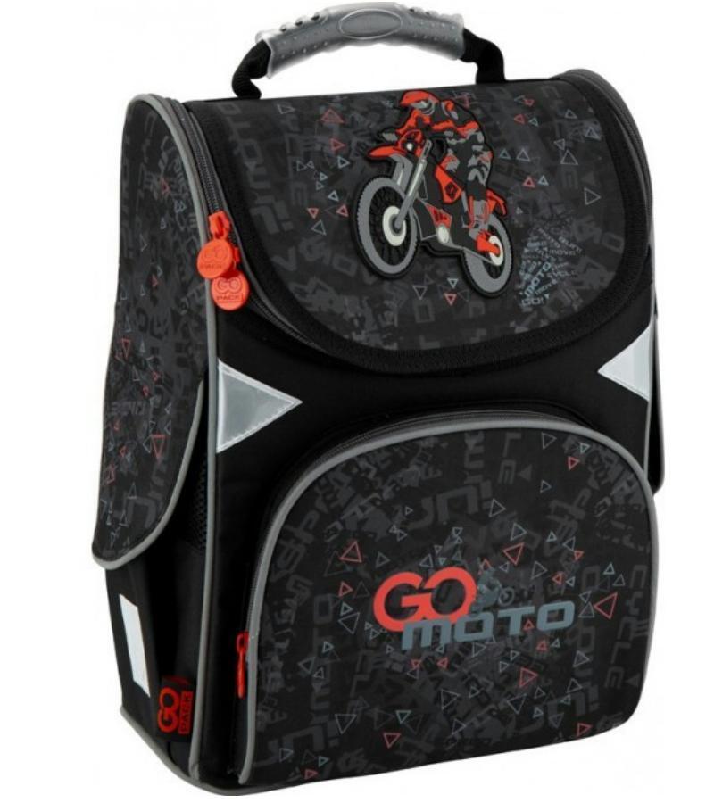 Школьный ранец KITE GoPack Education GO MOTO
