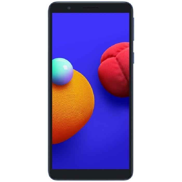 смартфон samsung a013 galaxy a01 core  1/16gb, синий