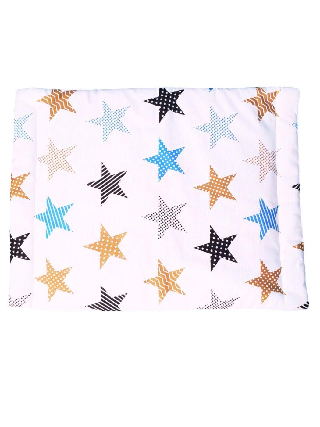 Подушка для новорожденных Lili Dreams Звезды пэчворк, 40x60