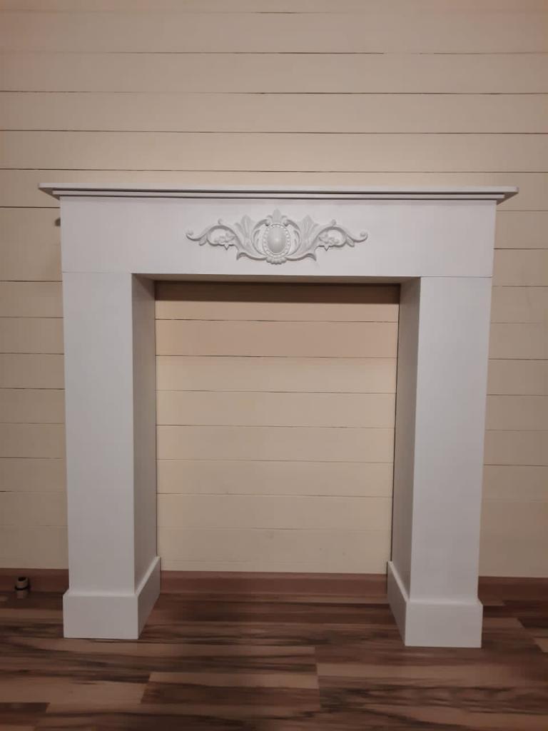 Портал каминный, деревянный