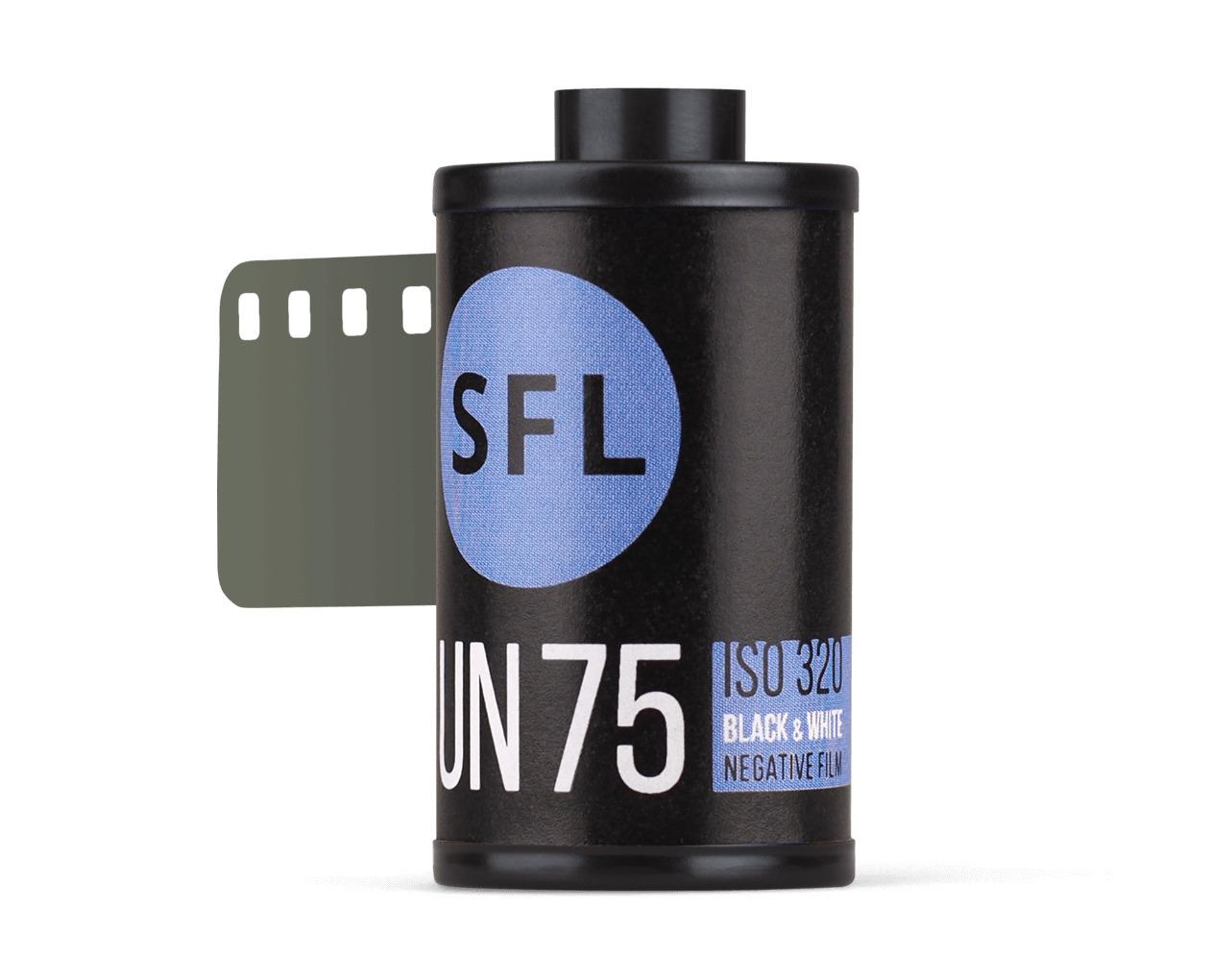 фотопленка sfl orwo un75 (135/36) ч/б негативная в кассете