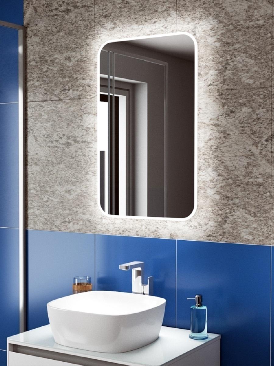 Зеркало для ванной Teymi, 82 см х 52 см