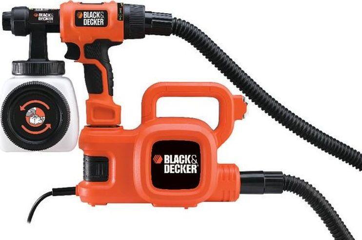Краскораспылитель 450Вт BLACK+DECKER, HVLP400 #1