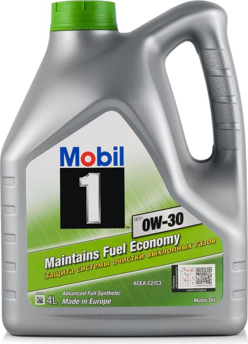 Моторное масло MOBIL 1 ESP 0W-30 Синтетическое 4 л #1