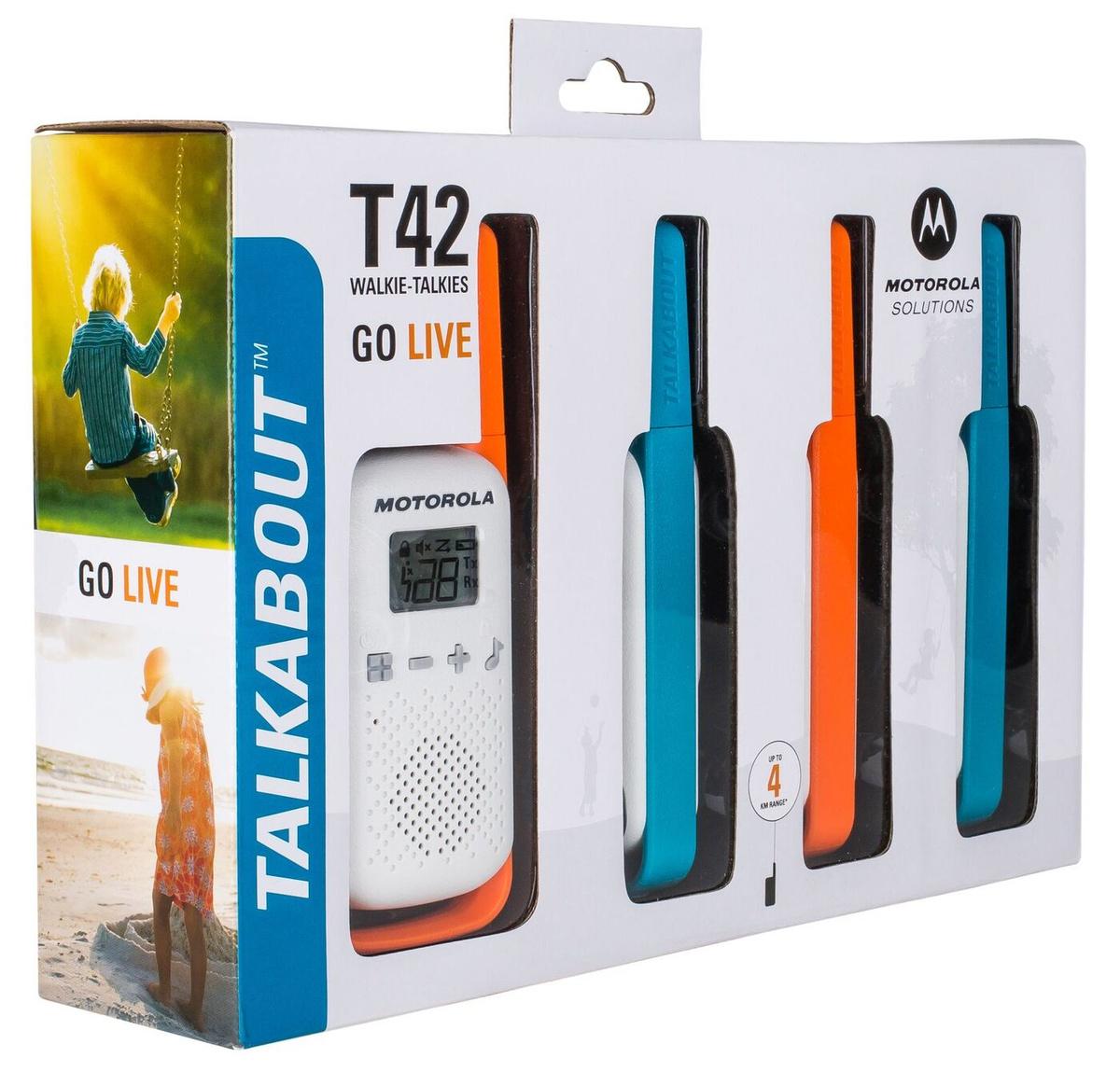 Комплект из четырех радиостанций Motorola TALKABOUT T42 QUAD #1